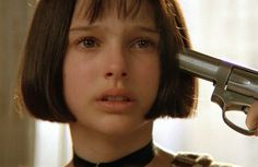 Natalie Portman as Mathilda in LEON di Luc Besson