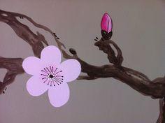 Decorazione, sakura cherry blossom