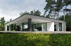 Netherlands Glass House with Future-Forward Flair