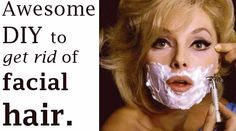 Almost every woman recognizes this problem: facial hair. We try everything to get rid of it as soon as possible. Using painful waxstrips for those little an