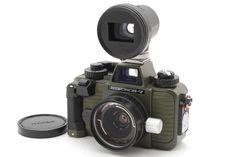 [MINT]Nikon Nikonos V Green Olive w/NIKON UW-KIKKOR 28mm f/3.5 from Japan#280 #Nikon