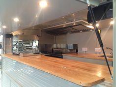H Van - Oak and stainless steel interior