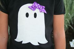 Chevron Ghost Halloween Shirt  Ghost by AnneMaddoxBoutique on Etsy, $26.00