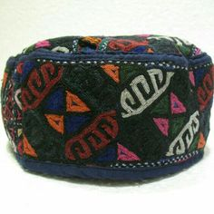 old hats embroidery hats tribal hat antique hat by meryemart Hats e00ccdd36500