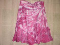 Tie Dye Jazzy Razzy skirt by NereidasNiftyThreads on Etsy, $20.00