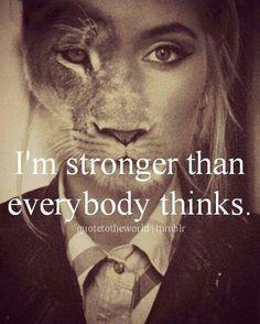 I really am