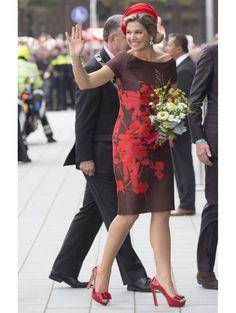 Koningin Máxima Bij de opening van de Markthal in Rotterdam, oktober 2014|