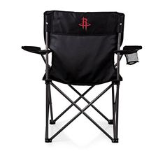 NBA Houston Rockets 'PTZ' Portable Folding Camp Chair  https://allstarsportsfan.com/product/nba-houston-rockets-ptz-portable-folding-camp-chair/  Perfect for any outdoor Picnic Use Items Color: Black Decoration: digital print