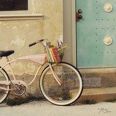bikes, books, old town