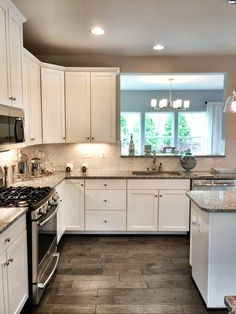 Ryan Homes Build - Fox Chapel model kitchen - our kitchen cabinets and flooring!
