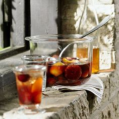 Autumn Sangria Recipe - Sept 1... almost time for spicy drinks. this one has molassses! crazy.
