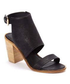 Look what I found on #zulily! Black Yahto Sandal #zulilyfinds