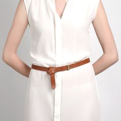 perfect belt / The High-Low Belt Rhum – Everlane