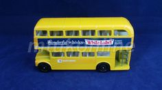 CORGI DOUBLE DECKER BUS | MADE IN GB | WONDERFUL WHISKY WHITE LABEL | NORTHERN