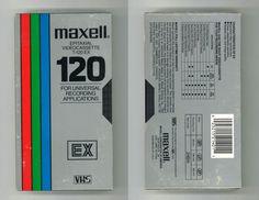 Blank VHS Cassette Packaging Design Trends: A Lost Art - Flashbak Trending Art, Cassette Recorder, Video Home, Lost Art, Design Trends, Packaging Design, Palette, Meme, Graphic Design