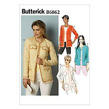 Buy Butterick Women's Skirts Sewing Pattern, 6062 Online at johnlewis.com