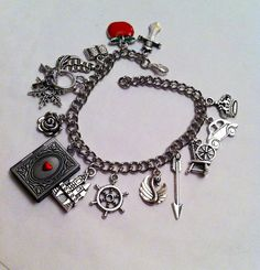 Once Upon a Time - Fairytale Jewelry - OUAT ABC Inspired Charm Bracelet