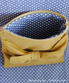diy zipper pouch tutorials.