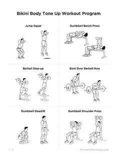 Bikini exercise program — img 7