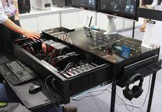 Hide your high PC in your desk with this case