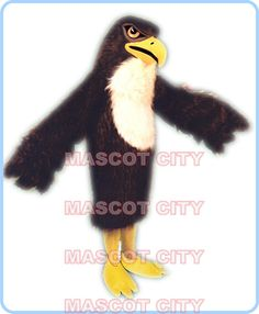Click to Buy << purple falcon mascot costume high quality adult size ...