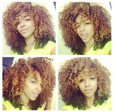 Astounding 1000 Images About Curly Hair Tips On Pinterest Mixed Hair Short Hairstyles For Black Women Fulllsitofus