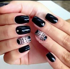 Nail Art Designs Videos, Nail Designs, Cute Nails, Pretty Nails, Lcn Nails, Red Acrylic Nails, Minimalist Nails, Easy Nail Art, Nail Arts