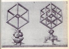 Page from Wenzel Jamnitzer's 'Perspectiva corporum regularium'; Perspectiva Corporum Regularium (Perspective of regular solids), created in 1568 by German goldsmith and printmaker Wenzel Jamnitzer and available online through the Getty Research Institute Geometry Book, Geometry Shape, Sacred Geometry, Platonic Solid, Minimalist Beauty, Renaissance Era, Math Art, Geometric Art, Geometric Fashion