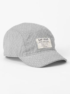 Dobby dot five-panel hat Product Image
