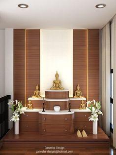 Encouraging stretched Meditation room Worn By・ Room Interior, Home Interior Design, Temple Room, Temple Design For Home, Mandir Design, Pooja Room Door Design, Puja Room, Indian Home Decor, Vintage Design