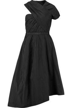 CARVEN Asymmetric Shell Dress. #carven #cloth #dress