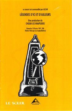 Février 1991  Légendes d'ici et d'ailleurs  Les Rhapsodes