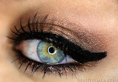 """Lashes For Days"" Makeup Look and Tutorial, using the Urban Decay Naked 3 Palette"