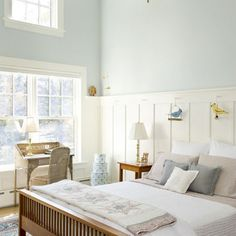 Wainscot Paneling Bedroom Design, Pictures, Remodel, Decor and Ideas - page 2