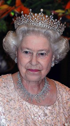 The Queen regularly wears the Girls Of Great Britain and Ireland Tiara, which she chose fo...