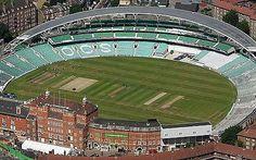 Oval Cricket Ground, Kennington, London -now called The Kia Oval! London Now, London Life, Ashes Cricket, Paisley Scotland, Test Cricket, Sports Stadium, Play N Go, Fast Times