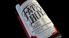 Fat Boy Whiskey on Packaging of the World - Creative Package Design Gallery
