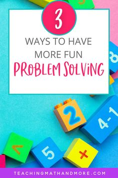 Do your students want to have more fun in math? Try these 3 tips to get more out of word problems. Problem solving doesn't have to be boring. You can have fun in the math classroom. Upper Elementary and Middle School kids enjoy these math activities and games. Try a math activity today!