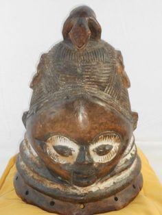 African Mende Bundu Mask