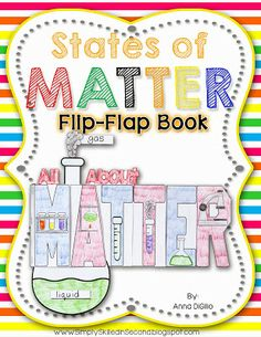 Simply Skilled in SecondIt's all about STATES OF MATTER!Simply Skilled in Second
