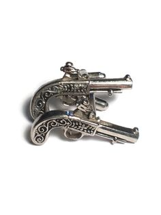 Revolver Cufflinks, Gun Jewelry, Weapon, Gift for Him, Cuff Link, Suit, Free Shipping, Western, Pistol by MidWestMerMade on Etsy