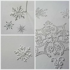 Handcrafted By Eva Kuno: Homemade Christmas Cards - pinhole greatness