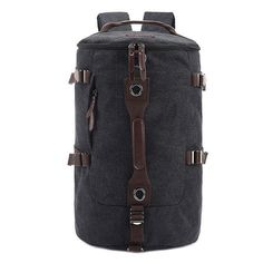 8d3c1d33c7ec High Quality Men s Travel Bag Solid Zipper Men canvas Bag Men s Backpack  bolsa masculina rucksack bucket