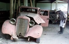 Pablo Escobar's once dazzling car collection rusts away in abandoned mansion