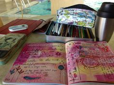 Art journaling - doodling | Flickr - Photo Sharing!