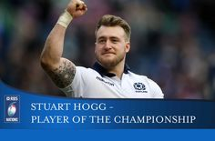 Stuart Hogg man of the Championship