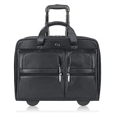 #8: SOLO Premium Leather Rolling 15.6 Laptop Case Black D957-4 Premium Leather Rolling Laptop D957 4 is rated as one of the top selling items in Apparel  category in Canada. Click below to see its Availability and Price in YOUR country.