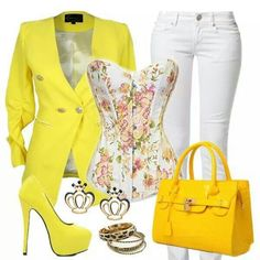 Date night attire Church Outfits, Yellow Top, Smart Casual, Two Pieces, Fashion Outfits, Womens Fashion, Fashion Boutique, What To Wear, Cute Outfits