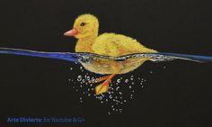 Cómo dibujar un pato - Patito amarillo nadando #arte #dibujo #ArteDivierte #pato #agua #artistleonardo #LeonardoPereznieto #tutorial Haz clíck aquí para ver mi libro:http://www.artistleonardo.com/#!ebooks/cwpc