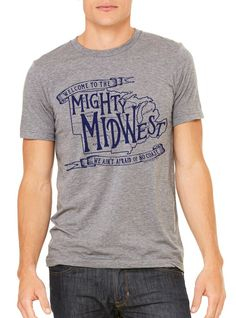 Tee See Tee - Mighty Midwest Graphic Tee $25 - The Shop Gal